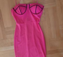 Haljina uska pink