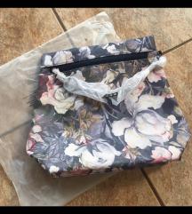 Torba-ruksak s akvarel printom