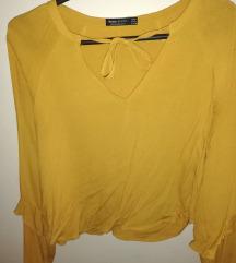 Bershka žuta bluza