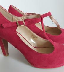 crvene ženske cipele 39-NOVO