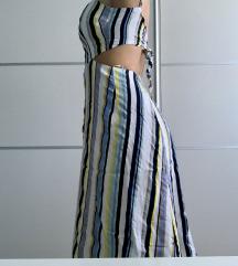 BERSHKA  Midi ljetna haljina