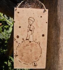 Mali princ, drvena tablica