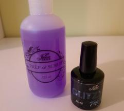 NOVO: Jana Nails Prep&Scrub i Glitzy top coat