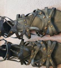 pletene sandale