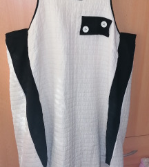 Bijelo crna tunika - poštarina u cijeni