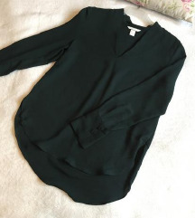 Nova elegantna bluza tamno zelene boje