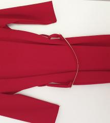 No name crvena haljina