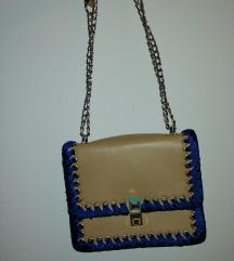 BEIGE-BLUE torba