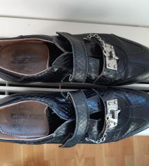 Paciotti crne kozne tenisice br. 39