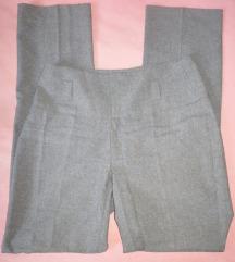 Nove sive hlače visokog struka