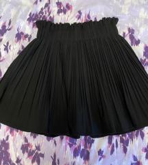 ZARA crna suknja s hlačicama