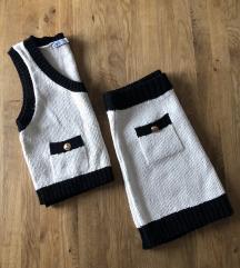 Zara komplet knit