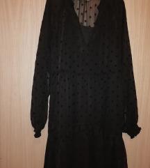 Crna haljina sa točkicama