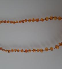 Jantarna ogrlica za bebu
