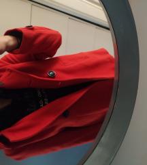 Zara Basic narančasti kaput S