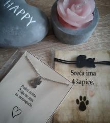 Komplet ogrlica i narukvica,mace
