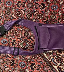 Ljubičaste bisage mala torbica