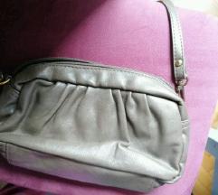Kožna maslinasta torbica AKCIJA
