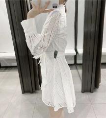 Zara embroidered haljina s etiketom