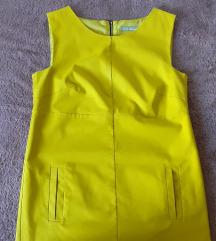 Neon žuta haljina