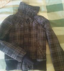 Fishbone karirana zimska jakna