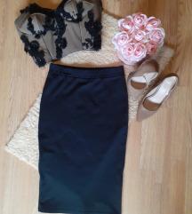 Zara midi suknja