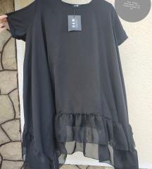 PLUS SIZE crna majica