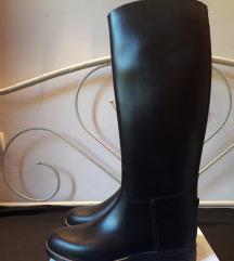 Crne gumene jahaće čizme Fouganza 38
