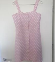 Mango baby pink haljina