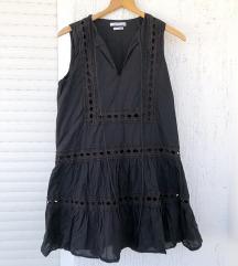 RESERVED crna bohemian haljina bez rukava