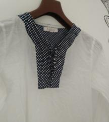 Bijela gazasta bluzica