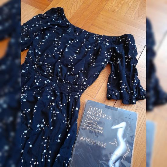 Lot haljina i total shaper najlonke Calzedonia
