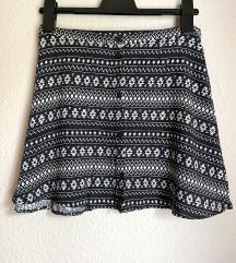 Mini suknja s uzorkom