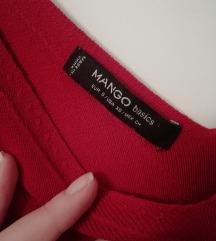 Crvena Mango haljina S