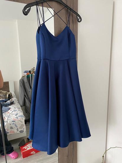 Svečana plava haljina