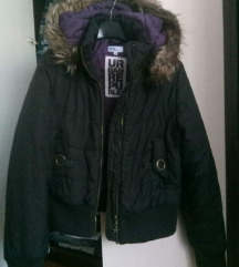 Zimska crna jakna, S