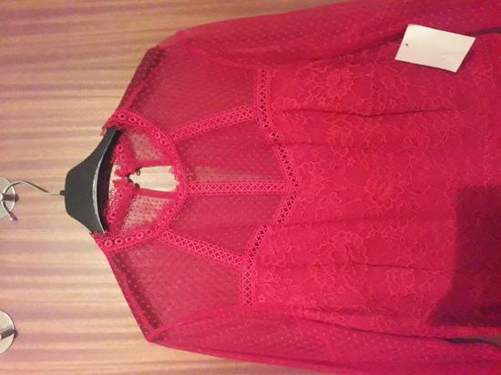 Nova crvena čipkasta haljina