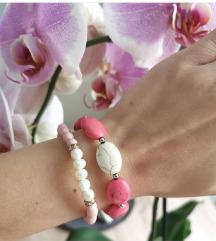 Narukvice od kamenih perli i bisera ✨💖😁