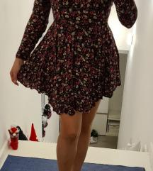 %SNIŽENO% H&M asimetrična haljina vel. 36