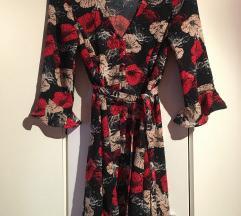 Nova vero moda floral print haljina S 36