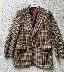 Vintage vuneni kaput blazer vel M
