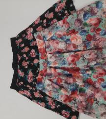 novo lot suknje+crop top
