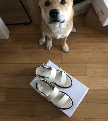 Kožne bijele sandale &otherstories