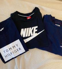 Lot brendiranih majica M