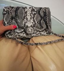 Zmijska Chanel torba