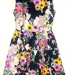 Haljina floral vel.M NOVO