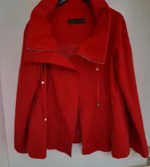 Crvena Zara jakna baloner S
