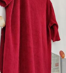 Bordo oversized majica tunika