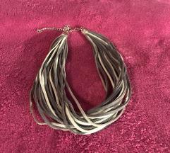 Nova ‼️ Siva ogrlica