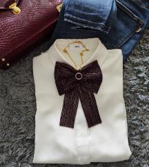 Mašna - broš/ogrlica